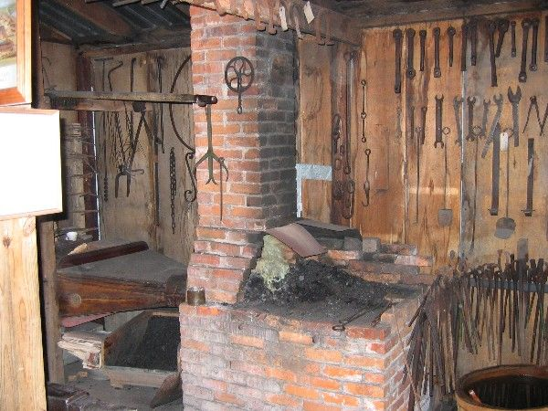 Brick Blacksmith Forge : Best images about forge ideas on pinterest how to