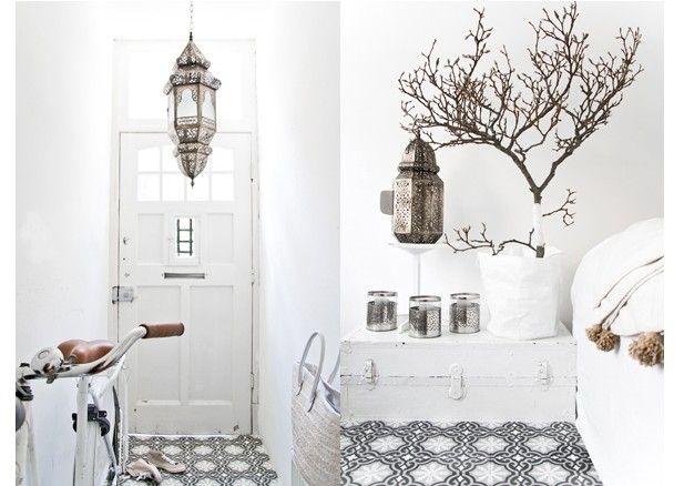 Un ambiente dall'atmosfera incantata - Atmosfera da sogno in questa casa in stile marocchino.