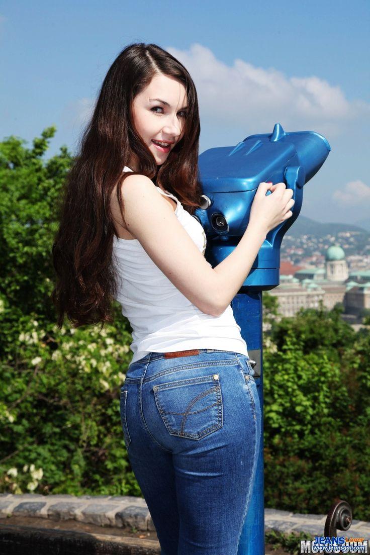super tighta jeans låg upphov midja heta blonda sexiga kvinnor knubbig rumpa charmig bröst vackra asiatiska flickor 4717 jpg