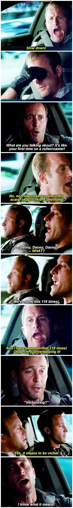 hawaii five 0 mcdanno scott caan alex o'loughlin h50: 4x17 i feel like that's not an arbitrary number steve actually keeps count