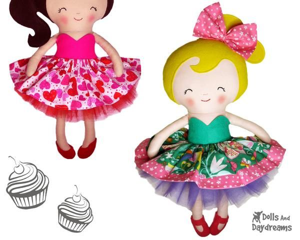 Dolls And Daydreams Sewing & ITH Patterns