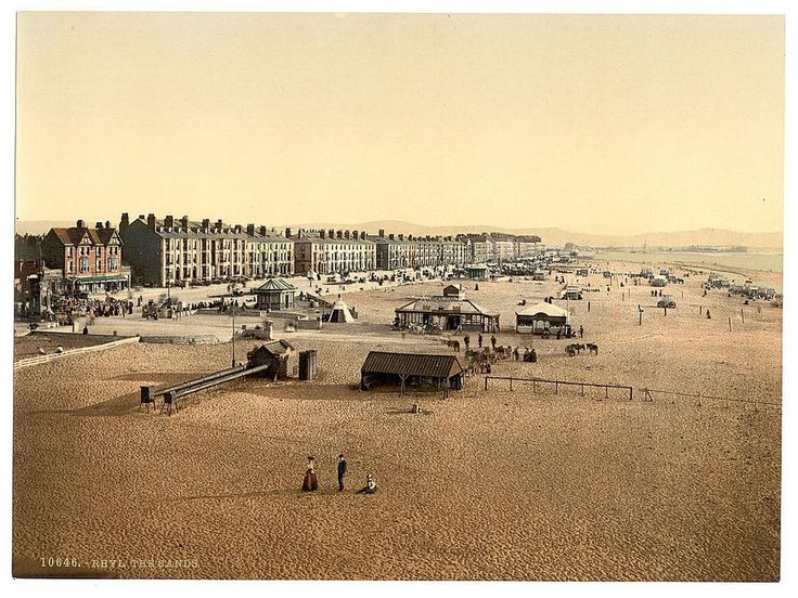 Library of Congress Images: The sands in Rhyl between 1890-1900.