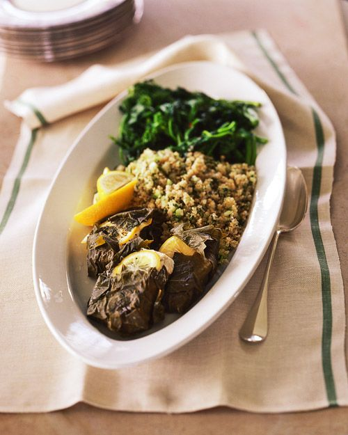 Quinoa and Parsley SaladOlive Oil, Quinoa Recipe, Mustard Green, Wilted Mustard, Whole Living, Parsley Quinoa Salad, Salad Recipe, Healthy Dinner, Healthy Food