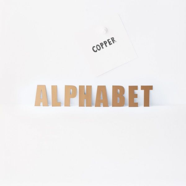 Magnetisk alfabet fra Groovy Magnets 399kr på www.woroom.no
