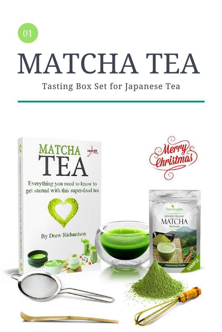 CHRISTMAS GIFT BOX - Matcha Green Tea & Teaware Tasting Box Set for ...