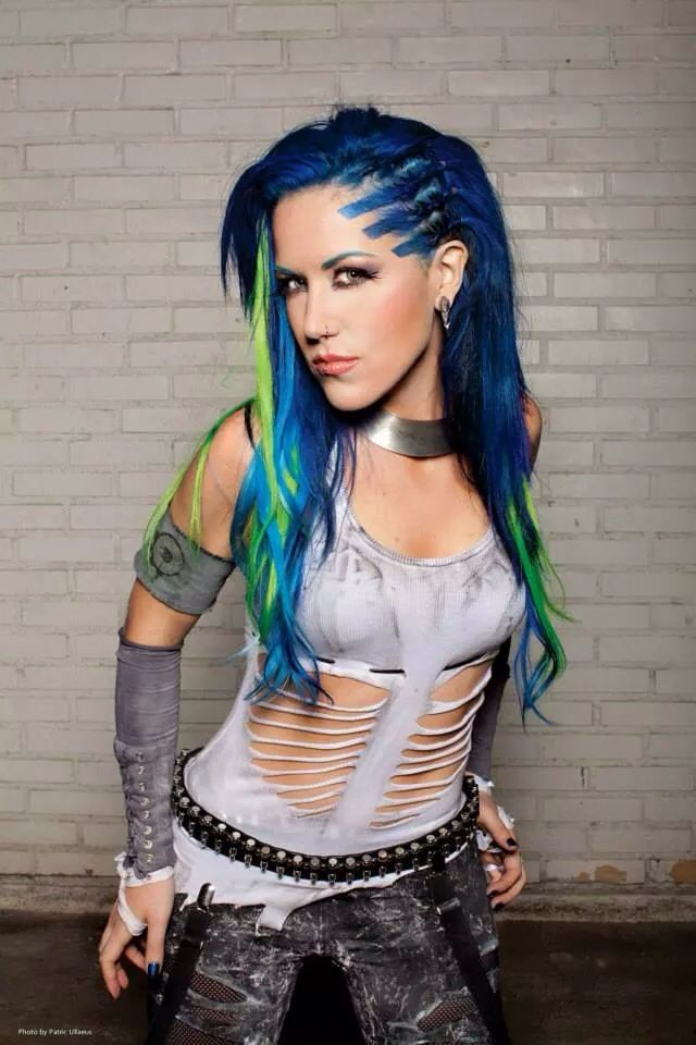 Arch Enemy's  Alissa White-Gluz