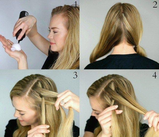 cool Красивые косы на длинные волосы (50 фото) — Оригинальные идеи плетений