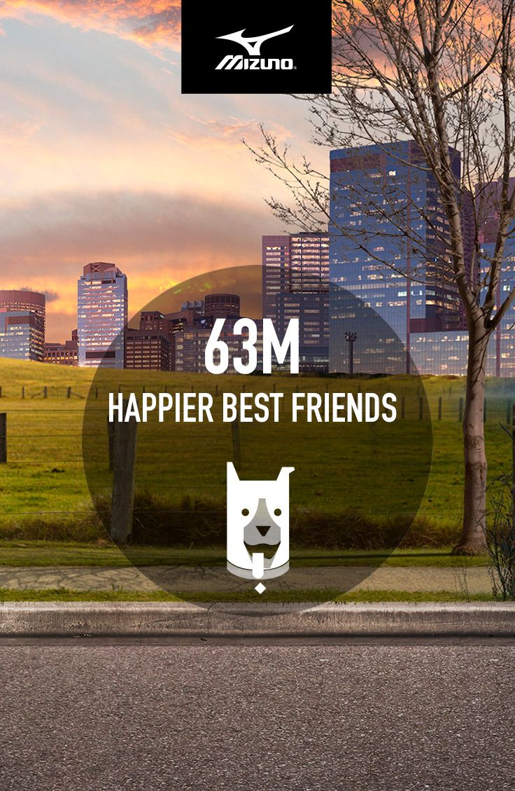 Mizuno believes running is powerful. So they commissioned a statistical analysis to find out what the world could look like if everybody ran. 63 million happier dogs is just one awesome possibility. The rest of the results may surprise you. #IfEverybodyRan
