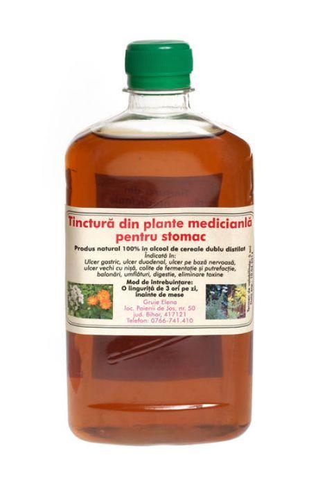 Tinctura din plante medicinale pentru stomac