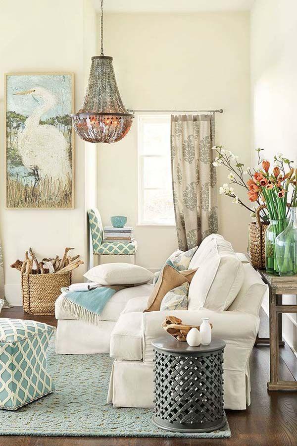 Coastal Family Room Colors