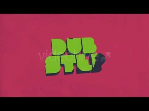 """Dubstep Logo"" after effects intro template"