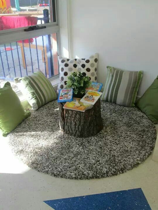 Natural reading nook for kid's