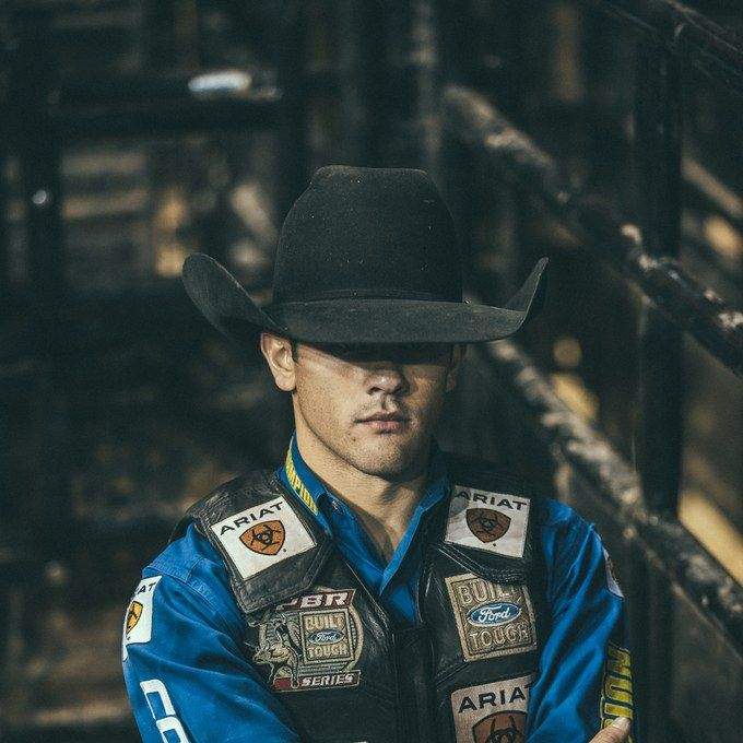 GQ and bull riders in NYC