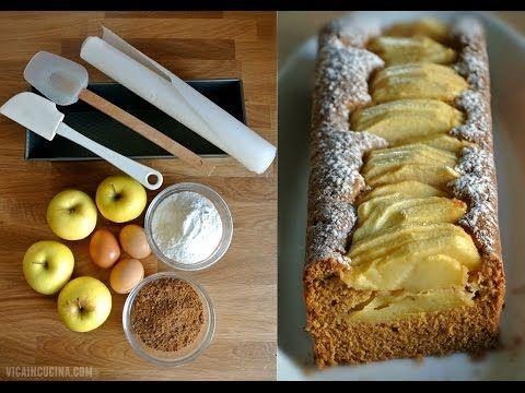 Plumcake alle mele senza glutine e senza lattosio – Vicaincucina