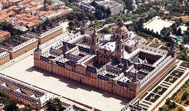 Real Monasterio de El Escorial, 1563-1584. Juan de Herrera.