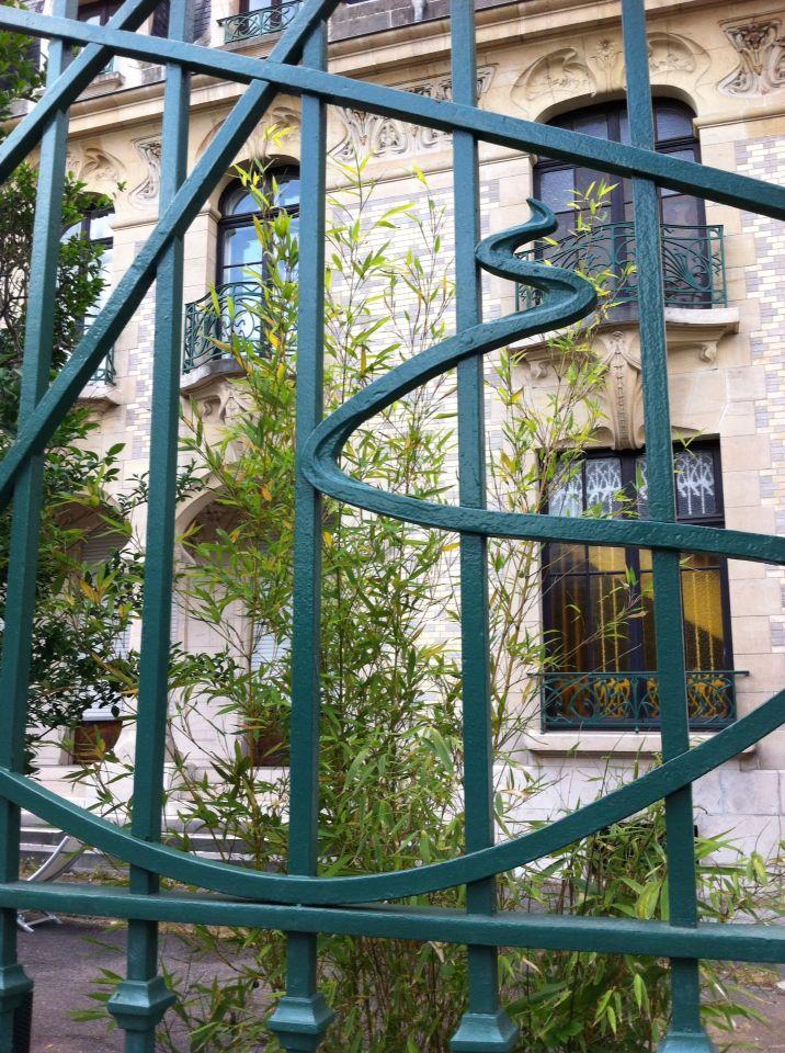 Maison Luc rue de Malzéville à Nancy - les visites de Lucie - visites guidées à la découverte y patrimoine architecturale de l'école de nancy - art nouveau - balades pédestres - visites inédites