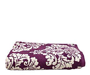 Toalla de ducha XL Damasco - púrpura