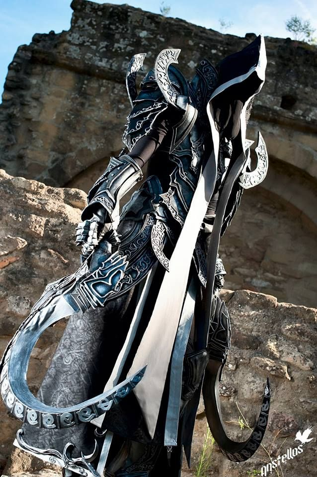 Malthael from Diablo III: The Reaper of Souls  Cosplayer/Submitter: SakuraFlamePhotographer:Anstellos