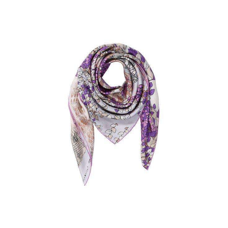 Gate to a friendship silk scarf