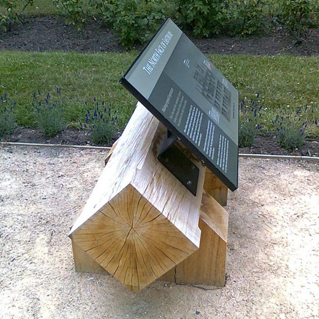 Eastbury low level lectern