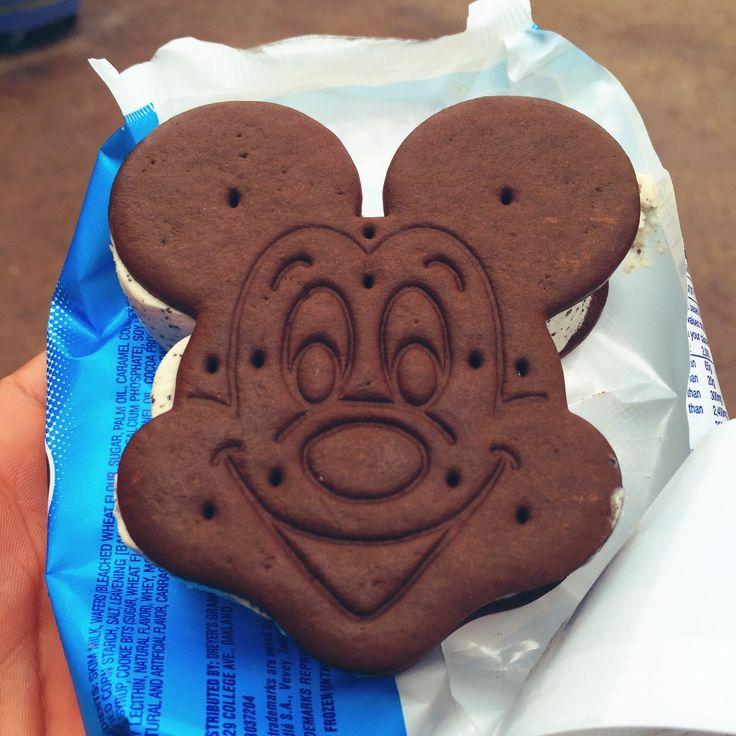 Mickey's Cookie and Cream Ice Cream Sandwich