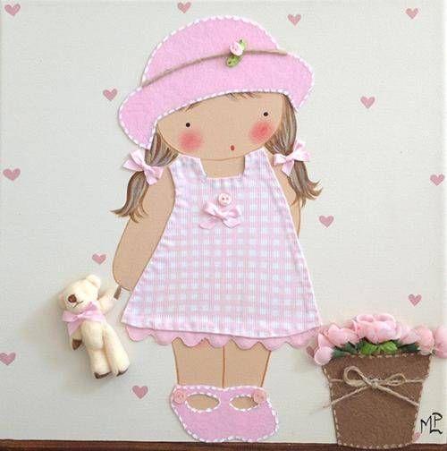 Cuadros de Bebés artesanales y personalizados de BB The Country Baby - Decoración Bebés - Ideas y Fotos