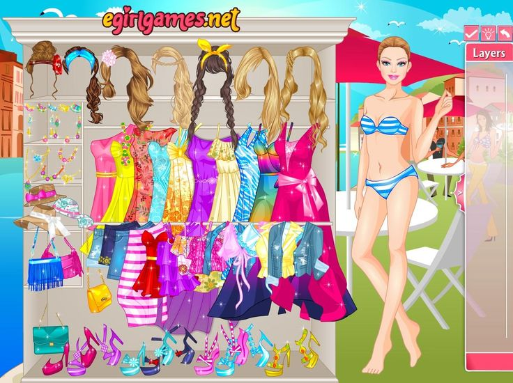 Przygotuj stylizację dla Barbie, która spędza wakacje we włoskiej Wenecji. Czeka na nią romantyczna podróż gondolą!  http://www.ubieranki.eu/ubieranki/10127/barbie-w-wenecji.html
