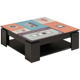 Parisot Quadri Coffee Table - Music