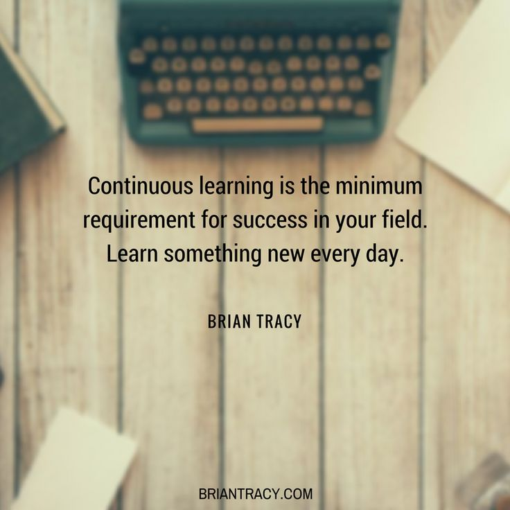 #Learn something new every day. #success