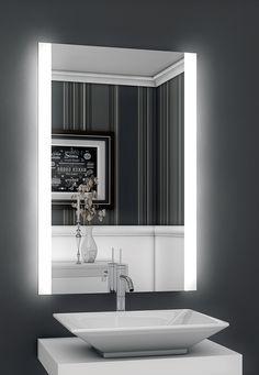 Bricode Süd® LED Badspiegel Persis (B) Badezimmer Wandspiegel mit Beleuchtung in Möbel & Wohnen, Badzubehör & -textilien, Spiegel | eBay