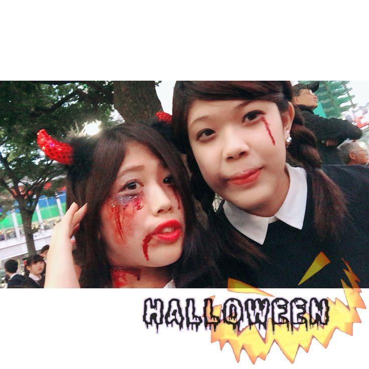 10/31  HappyHalloween 初の渋ハロ 初の傷メイク くっそ楽しかった 場面でいったけど 行ってよかった 大内ありがとちん  #ハロウィン #仮装 #Halloween # # #デスデビル #傷メイク #なかなか上出来 #めっちゃ心配された #笑 #渋谷 #渋ハロ #sby #shibuya #instagood