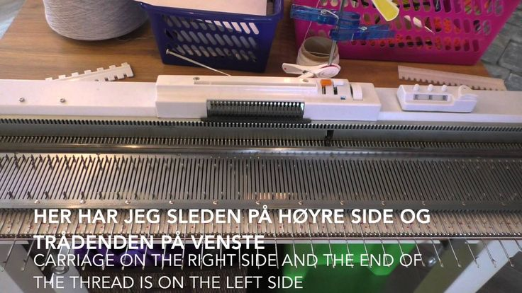 Legge opp annen hver nål - Cast on every second needle / Norsy/Silver Re...