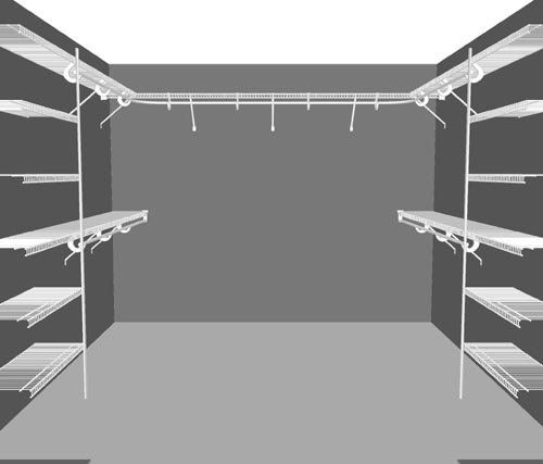 Closetmaid Walk In Closet Designs | ... Walk In Wardrobe Packages, Clothes  Storage