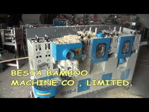 High Speed Bamboo Strip Planing Machine,Bamboo Strip Processing Machine Video - YouTube