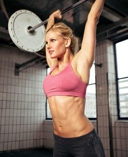 weight lifting plan Standing shoulder press