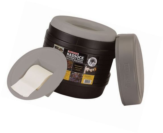 Portable Toilets and Accessories 181397: Reliance Products Hassock Portable Lightweight Self-Contained Toilet (Colors May -> BUY IT NOW ONLY: $30.83 on eBay!