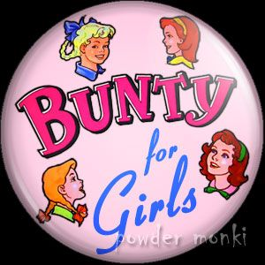Bunty Annual - Badge/Magnet ~ www.powdermonki.co.uk ~ £0.99