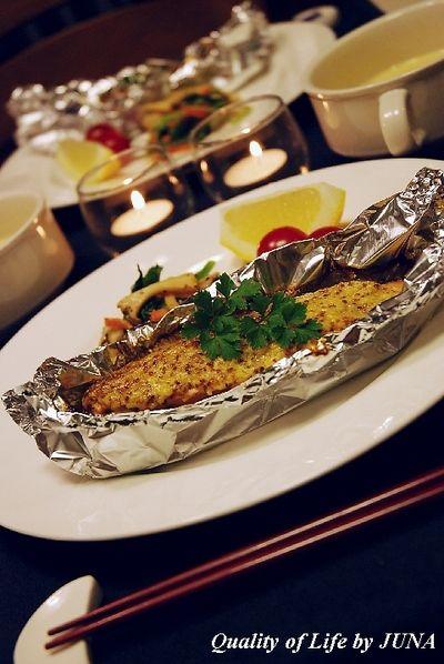 簡単レシピ♪鮭のホイル焼き☆マヨマスターソース by JUNA(神田 ...