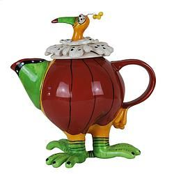 Crazy Chook Teapot