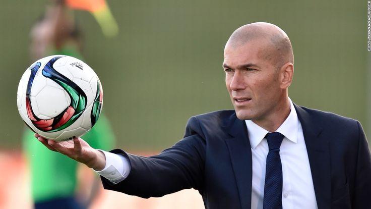 Zinedine Zidane: Frenchman named Real Madrid coach - CNN.com