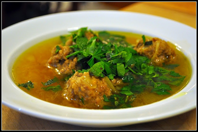 Gondi (chickpea flour meatball soup) | Cooking | Pinterest