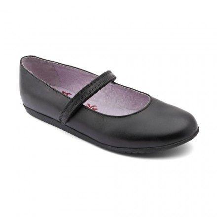Celestial, Black Leather Girls Riptape School Shoes - Girls School Shoes - Girls Shoes http://www.startriteshoes.com/girls-shoes/school-shoes/celestial-black-girls-riptape-school-shoes