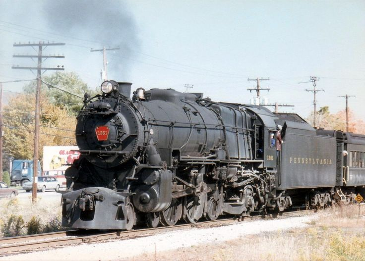 K4s No. 1361 on Bald Eagle Branch June 1988 Excursion