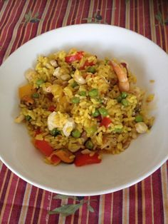 Paella Bimby, ricetta veloce - Ricette Bimby