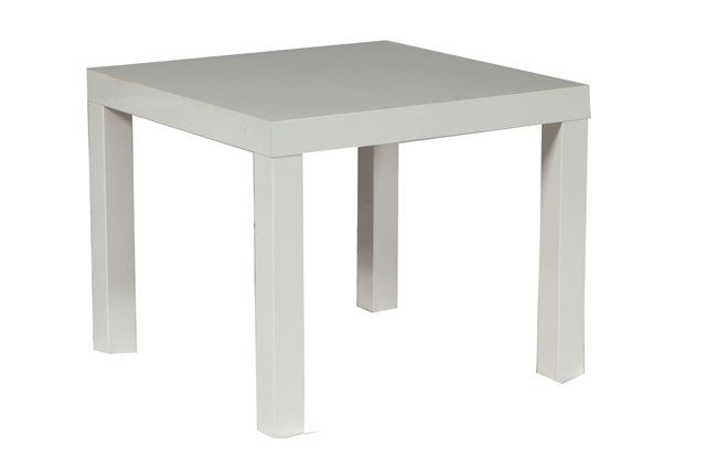 Party Reflections Table Rentals White Square End Table