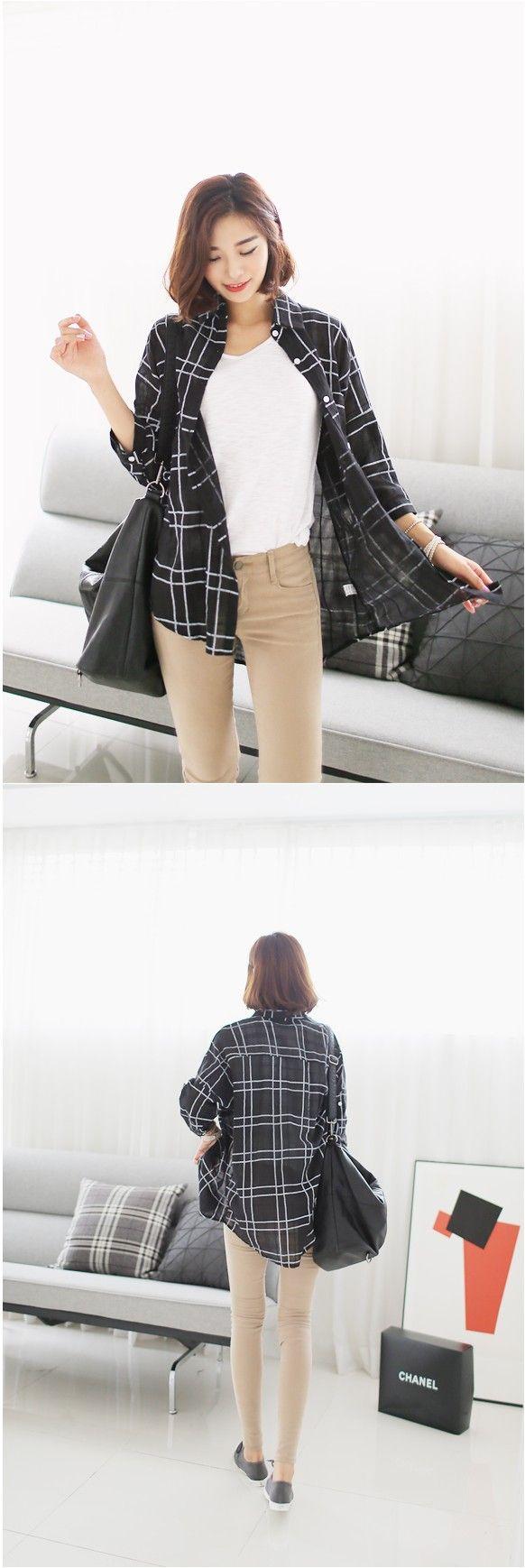 trendy plaid shirts  #shirts #plaid #KOODING.com