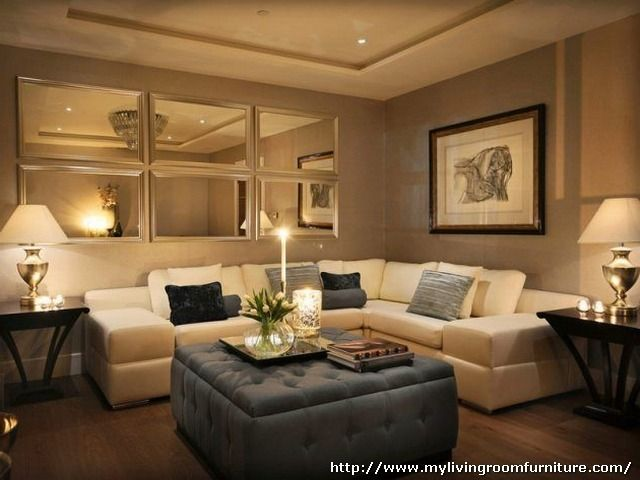 Decorating With Mirrors in Living Room