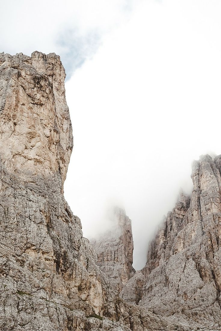 Catinaccio Rosengarten - Check more photos in our blogpost about the  Summer in the Dolomites - Val di Fassa - Travel & Photography All the Places you will go