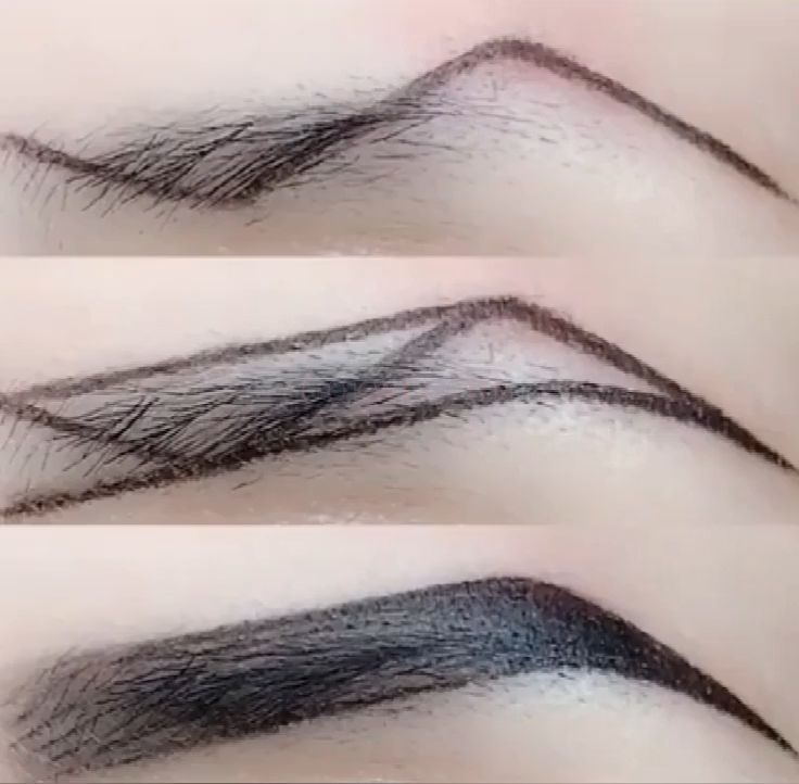 Z-type eyebrow makeup technique – Make up