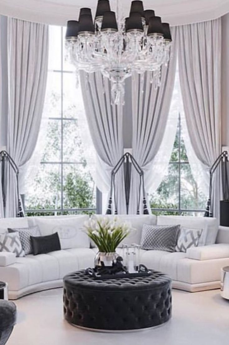30 Best Grey Living Room Ideas For Gorgeous And Elegant Spaces New 2019 Eeasyknitting Com Elegant Living Room Home Curtains Elegant Home Decor